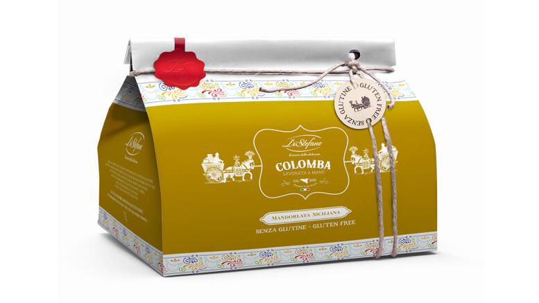colomba_mandorlata gluten free bag Distefano dolciaria (Ph. Alessandro Castagna)