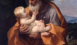 San Giuseppe col Bambino Guido Reni, 1635.