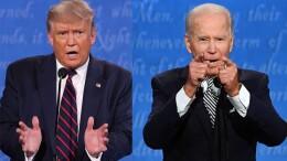 Trump contro Biden: incredibile prendere un presidente ancora più anziano. Ma Trump (74 anni contro quasi 78) ...se li porta anche bene. La giovane e bella moglie gli dimostra amore e affetto contribuendo probabilmente ad allungargli la vita. Nessuna medicina supera il buonumore.