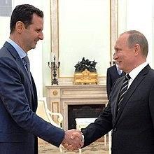 Biden, aggredend di nuovo Bashar al - Assad ha irritato Putin che ne è il paladino nell'orrica dell sua politica mediterranea . La Siria ha, infatti, un lfronte a mare di centinaia di Km, è unpaese dalla grande storia in poszioine strategica al centro dello scacchiere mediterrneo. Ogni giorno più prezioso per l'avvio dei trafficvi intermodli via Sujeze e delle 'vie' per l'oriente.-