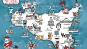 """Bella la Sicilia con il suo mare, il clima e la storia. Federico II morì dicendo: """"vi lascio tanto ma  ciò che più vale lo avete da sempre.E' la vostra posizione nel Mediterraneo"""". Il governatore Musumeci ripete l'eterna lezione. Ma ora più che mai è preziosa: il Mediterraneo è alle soglie di un Neo Rinascimento che alcuni storici fanno simbolicamente datare da quando la dieta mediterranea è divenuta patrimonio dell'Umanità Unesco,16 Novembre 2010 ."""
