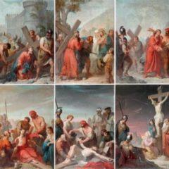 6 delle 14 Stazioni della VIa Cruci