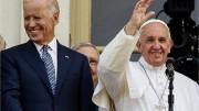 Bergoglio e Biden. Questo, eletto con l'artifizio dei potenti Usa, che rappresenta politicamente,è certamente in linea con che progetta  il 'nuovo ordine'. E non certo a ...fini benefici