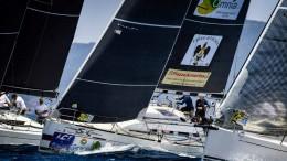 Il first 35 South Kensington (First 35) di D'Andrea vincitore negli scorsi giorni di un titolo tricolorea Punta Alka