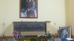 La sepoltura nella chiesa di Borgo Ulivia