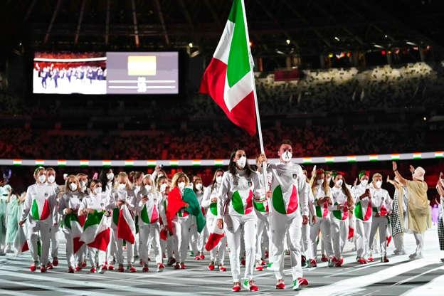 Sfila l'Italia.