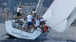 L'imbarcazione da regata Quattrogatti di Andrea Casini