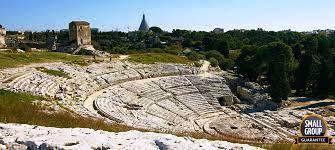 Parco della Neapolis e teatro greco Siracusa.